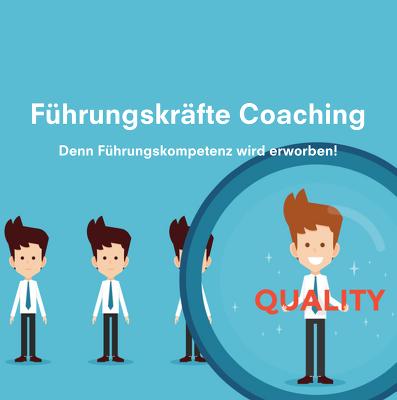 Führungskräfte Coaching - Führungskräfteentwicklung | Ihre-Mediation.com - Flyer Quadrat