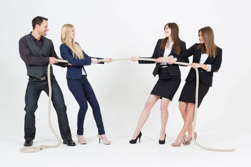 Teamkonflikte - Konfliktlösung durch Mediation im Team